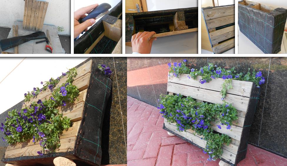 Lombrico garden for Jardin vertical reciclado